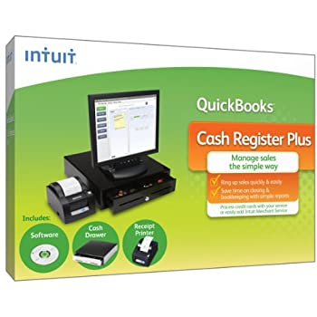 The simplest way to ring up sales and take payments. QuickBooks Cash Register Plus helps you ring up sales quickly and easily, and enables you to save time and money taking payments.  Use basic reporting to gain insight into your business and boost y...
