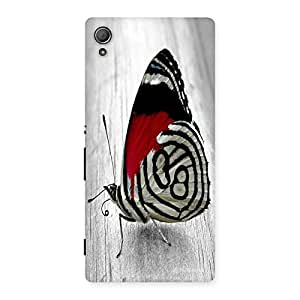Unicovers Cute Butterfly Back Case Cover for Xperia Z3 Plus