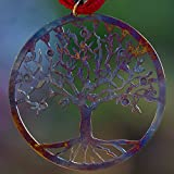Tree of Life Ornament with Ribbon