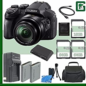 Panasonic Lumix DMC-FZ300 Digital Camera + 16GB + 64GB Green's Camera Bundle 9