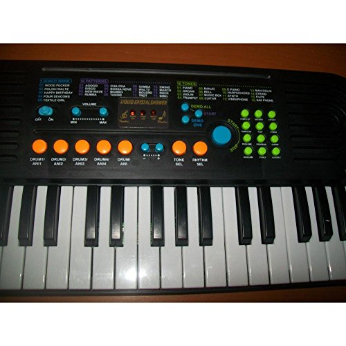 Buy Canto 37 Key Piano Keyboard With Microphone Ac Power