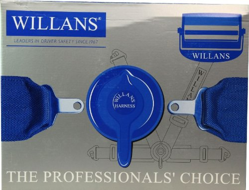 FET [ アサヒライズ ] WILLANS シートベルト CLUB4 2インチ [ 品番 ] 3420008