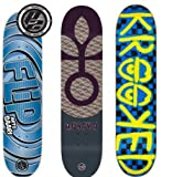 3 Flip Habitat Krooked 8.25 Skateboard Deck Lot