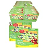 Sesame Street Checkers and Tic Tac Toe Game Set