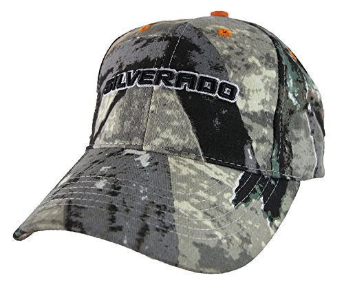 gm-chevrolet-silverado-camo-adjustable-casquette-de-baseball