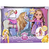 My First Disney Princess Toddler Rapunzel and Maximus Horse Doll Set with Brush