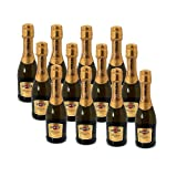 Martini Prosecco Miniature Sparkling Wine 20cl Bottle - 12 Pack