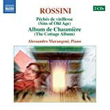 echange, troc Alessandro Marangoni, Gioachino Rossini - Péchés de vieillesse (Rossini Piano Music Vol. 1)