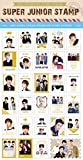 SUPERJUNIOR (スーパージュニア) 2015 記念切手シール (K-STAR CELEBRATE STAMP STICKER) [シール29枚入り]