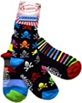 United Oddsocks Boys Oddsocks 3pk Boys 8