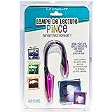 LAMPE DE LECTURE LED PINCE PILE INCLUS - couleur aléatoire