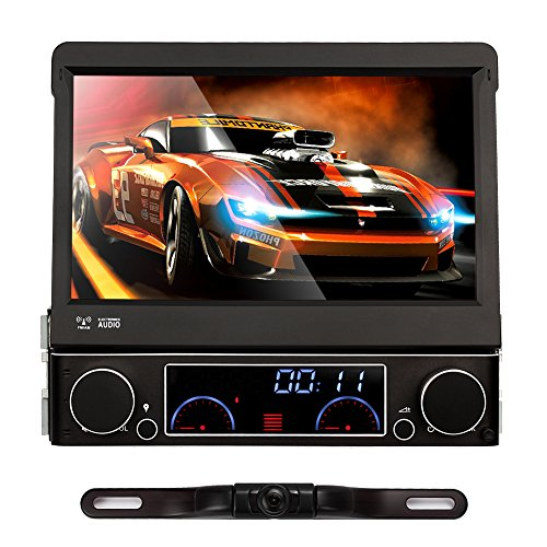 NAVISKAUTO-7-Windows-CE-60-1-Din-Autoradio-Auto-DVD-Player-Spieler-Touch-Screen-GPS-Navi-Navigation-Multimedia-Entertainment-800480-Untersttzt-Bluetooth-FM-AM-Radio-Subwoofer-Rckfahrkamera-Externe-TV-