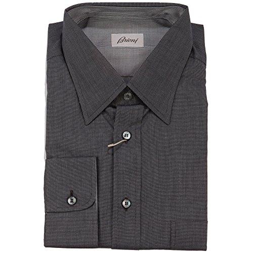brioni-button-front-shirt-charcoal