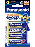 Panasonic EVOLTA 単3形アルカリ乾電池 4本パック LR6EJ/4B