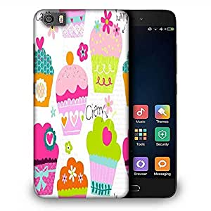 Snoogg Cup cakes Designer Protective Back Case Cover For Samsung Galaxy J1