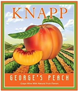 NV Knapp Winery George's Peach 750 mL