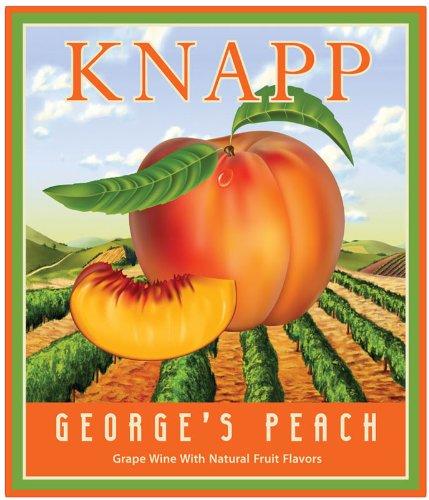 Nv Knapp Winery George'S Peach 750 Ml
