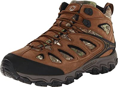 Buy Merrell Mens Pulsate Camo Mid Waterproof Hiking Shoe by Merrell