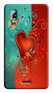GADGETMATE Micromax Canvas Doodle 3 A102 Printed Back Cover(For Micromax Canvas Doodle 3 A102 )
