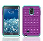 Galaxy Wireless Dual Layer Diamond Hybrid Skin Case for Samsung Galaxy Note Edge (At&t