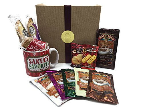 Hot Chocolate Gift Set (British Christmas Cake compare prices)