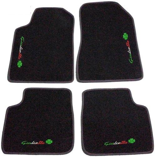trebol-alfa-romeo-giulietta-desde-2010-alfombras-para-coche-color-negro-y-antracita-juego-completo-d