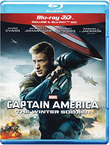 Captain America - The Winter Soldier (2D+3D) [3D Blu-ray] [IT Import]