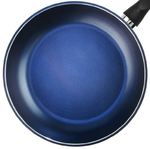 """TeChef - Color Pan 12"""" Frying Pan, Coated with DuPont Teflon Select - Colour Collection / Non-Stick Coating (PFOA Free) / (Lavender Blue)"""