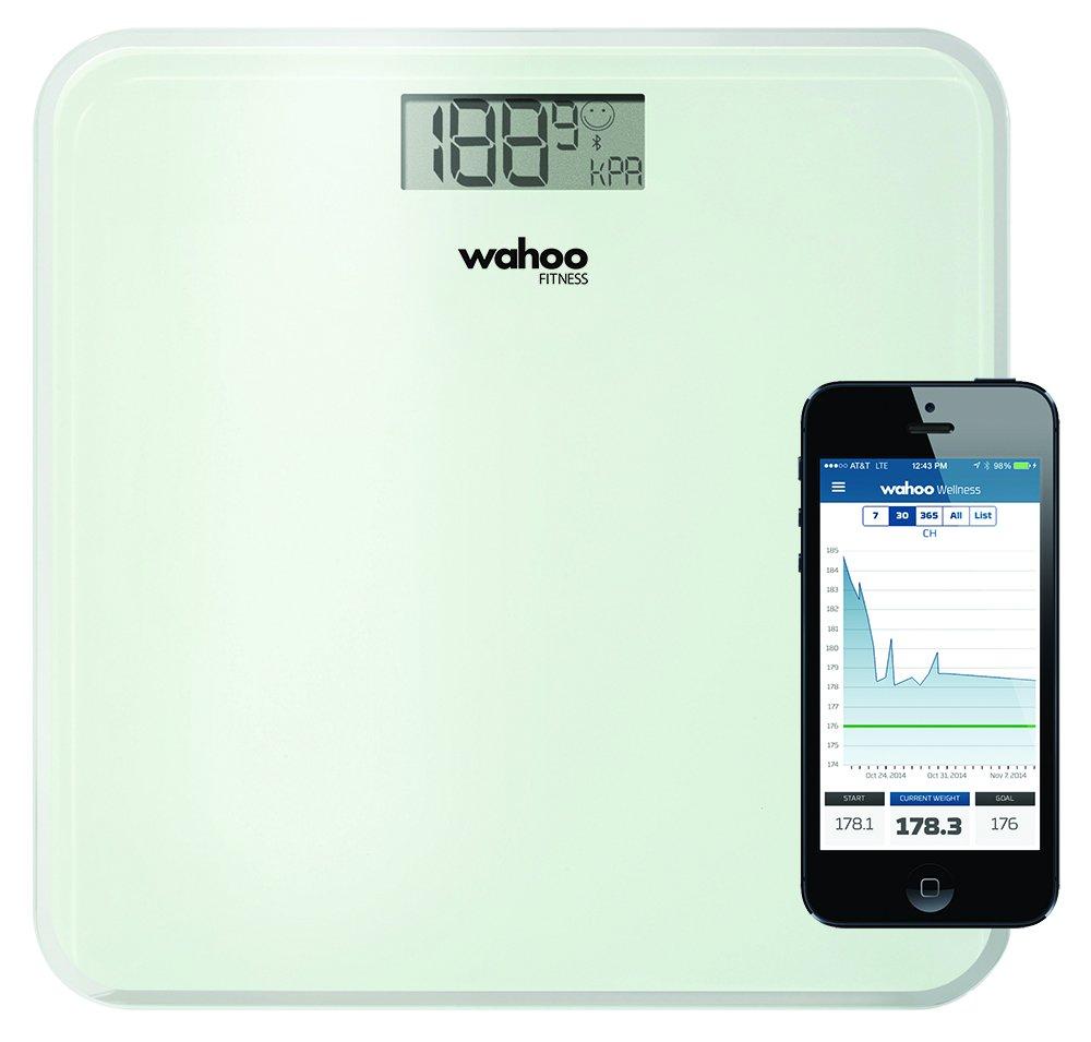 Wahoo WFBTScalev1 Fitness Balance Body Scale