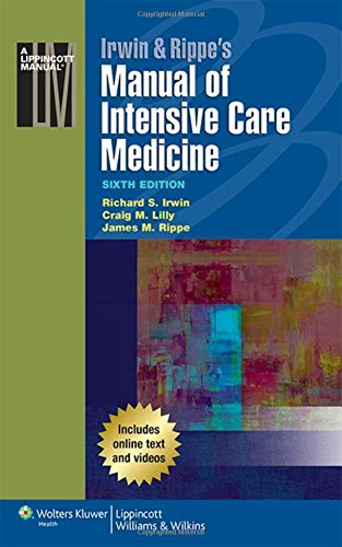 Manual of Intensive Care Medicine Irwin