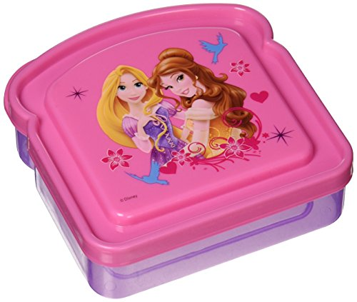 Disney Princess Girls Lunch Storage Fresh Sandwich Container (Disney Container compare prices)