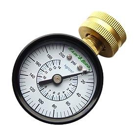 Rain Bird P2A Water Pressure Gauge