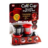 Cafe Cup Reusable Single Serve Coffee Pod, As Seen On Tv