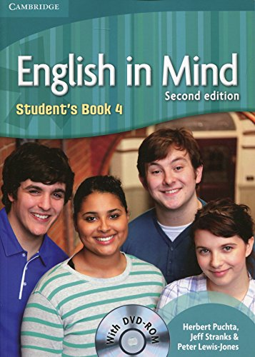 English in Mind 2nd  4 Student's Book with DVD-ROM