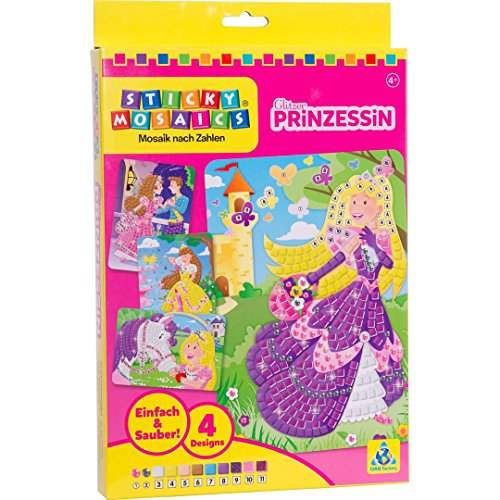 Faujas Sas ORB63795 Sparkling Princesse - Mosaico de pegatinas, diseño de princesas