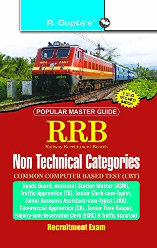 RRB: Non-Technical (Goods Guard, ASM, TA, CA etc.) Exam Guide