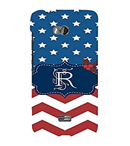 EPICCASE Repeated design Mobile Back Case Cover For Micromax Q336 (Designer Case)