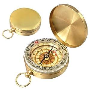 sodial r klassiker messinggelber kompass mit aussehen wie. Black Bedroom Furniture Sets. Home Design Ideas