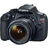 Canon-EOS-Rebel-T5-18MP-SLR-Digital-Camera-EF-S-18-55mm-IS-II-Lens-Kit-Accessory-Bundle-64GB-SDXC-Memory-DSLR-Photo-Bag-Wide-Angle-Lens-2x-Telephoto-Lens-Flash-Remote-Tripod-More
