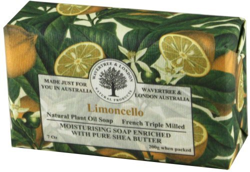 discount duty free Wavertree & London Limoncello luxury soap (1 bar) by Simple Scents Australia