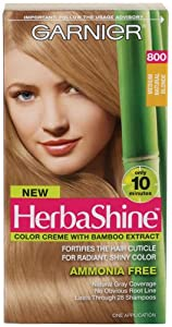 Garnier Herbashine Haircolor, 800 Medium Natural Blonde