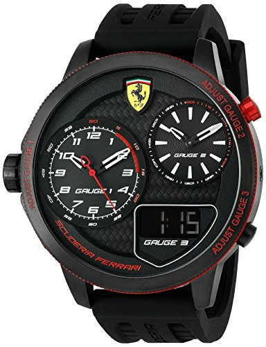 Ferrari De los hombres Analógico Dress Cuarzo Reloj 0830318