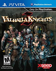 Valhalla Knights 3 - PlayStation Vita from Xseed Games