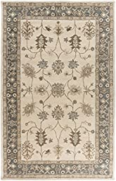 Artistic Weavers AWHR2050-23 Hand Tufted Wool Rug, 2 by 3-Feet, Ivory
