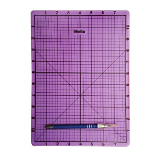Amazon Com Helix Craft Cutting Mat With Craft Knife