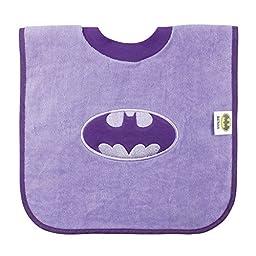 Bumkins Batman Pullover Bib, Purple