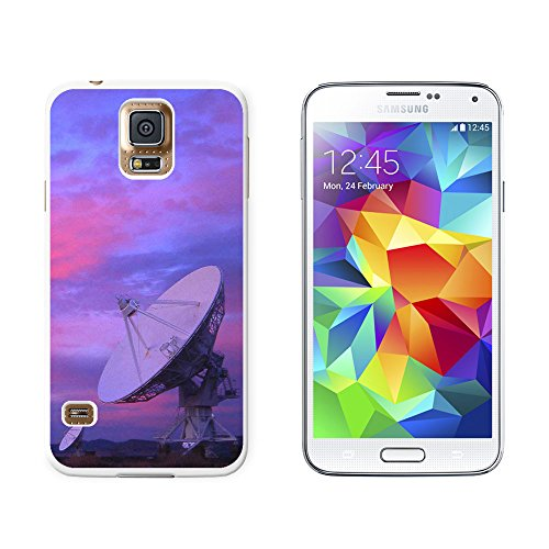 Very Large Array Vla Radar Telescope Dishes New Mexico At Sunset - Snap On Hard Protective Case For Samsung Galaxy S5 - White