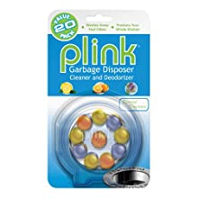 Plink PAF24N Garbage Disposer Cleaner and Deodorizer-20 Uses-Assorted Scents Variety Pack-Economical Cleanser Created by Plumbers