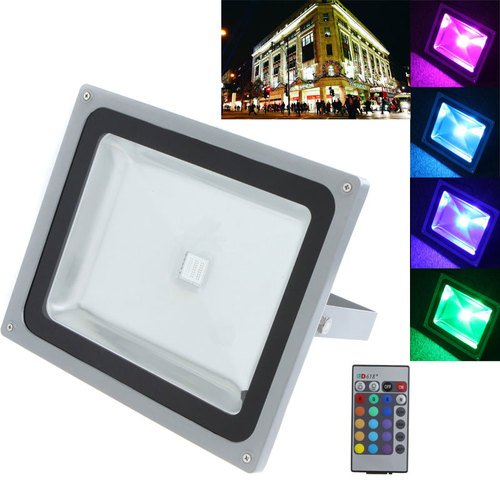 Waterproof Remote Control 30W Rgb Led Outdoor Garden Floodlight Flood Light Lamp 2700Lm With 2 Years Warranty front-413843