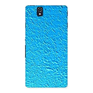 Special Premier Blue RPattern Back Case Cover for Sony Xperia Z